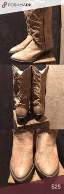 used womens boots size 9 vtg abilene black elk skin s cowboy boots size 7m