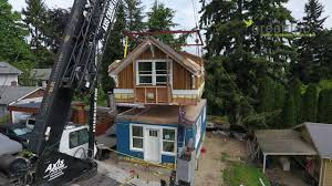backyard cottage greenfab prefab homes seattle backyard cottage youtube