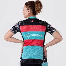 Sun Protective Cycling Clothing Women U0027s Miami 1935 Cycle Jersey U2013 Tri Sirena