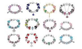 bracelet pandora murano images Pandora inspired murano sterling silver bracelet groupon jpg