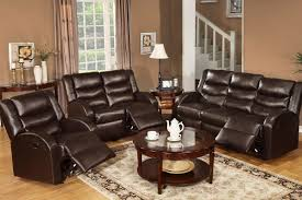 Leather Reclining Sofa And Loveseat Mesmerizing Leather Reclining Sofa And Loveseat Set Sofas Chair
