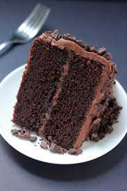 super decadent chocolate cake with chocolate fudge frosting