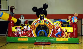 mickey mouse clubhouse bounce house party rentals new jersey party rentals