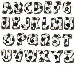 alphabet wall decals soccer alphabet wall decals