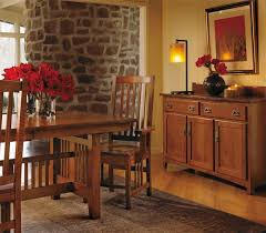 impressive ideas mission style dining room set homely idea oak