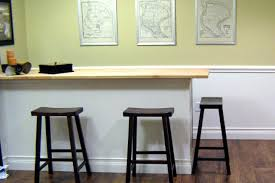 Diy Kitchen Bar by How To Build A Bar With A Butcher Block Countertop Hgtv
