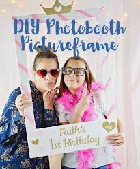 diy photo booth frame how to make a photo booth picture frame