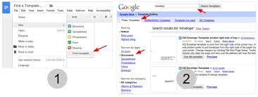 how to create an envelope in google docs techrepublic