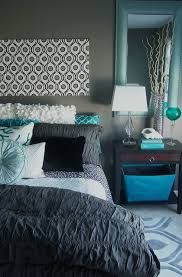 turquoise bedroom gray and turquoise bedroom contemporary bedroom grand rapids