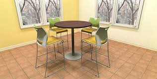 42 round laminate table top office cafeteria furniture employee lunchroom tables chairs joyce