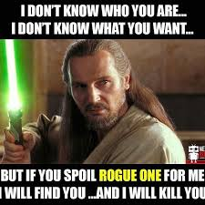 I Don T Know Meme - rogue one star wars memes