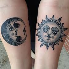 25 best sun and moon matching tattoos images on pinterest draw
