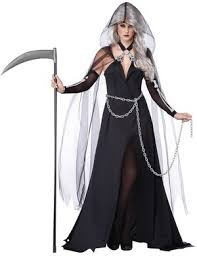 scary womens costumes reaper scary costume mr costumes