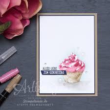 geburtstagskarten design 041 geburtstagskarte mit cupcake cards birthdays and catalog