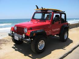 jeep wrangler red jeep u0026 west coast beach and sun new app for your jeep jeep