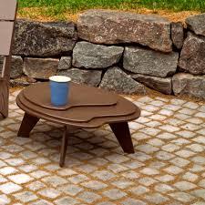 contemporary side table polyethylene garden 100 recyclable