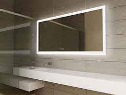 Bathroom Mirror Shaver Socket Modern Mirror Design Led Illuminated Bathroom Mirror With Sensor