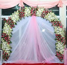 backdrops beautiful beautiful backdrop flowers pink and white fabric ready for