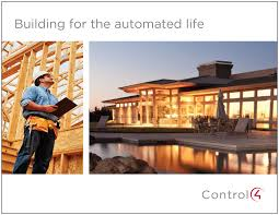 smart home systems smart home systems for builders control4 home automation