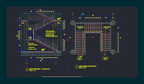 Autocad Kitchen Cabinet Blocks Free Cad Blocks Stairs First In Architecture Staircase Elevation
