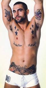 from those i love i will expect gun pistol handarm tattoo groin