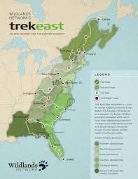 Map Of Eastern Florida by Eastern Wildway Wildlands Network