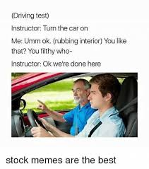 dopl3r com memes driving test instructor turn the car on me