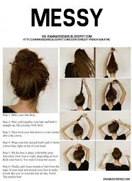 easy messy buns for shoulder length hair tutorials cool and easy hairstyles bun tutorials messy buns