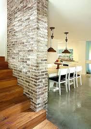 interior walls home depot faux brick wall interior idea to decorate a brick wall your