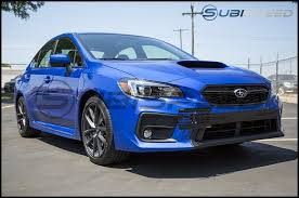 subaru impreza wrx 2018 grimmspeed front license plate relocation kit 2018 wrx sti 17