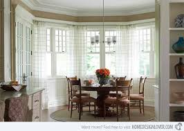 dining room bay window treatment ideas bay window ideas for dining