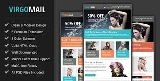 virgomail email marketing u0026 newsletter template by pophonic