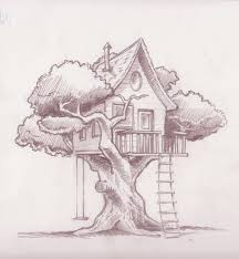 house drawings tree house drawnings yahoo search results