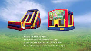 halloween bounce house rentals bounce house rental safety video by sky high party rentals youtube