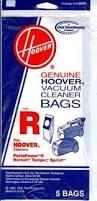 Hover Vaccum Hoover Type R Vacuum Bags 5 Pack Part 4010063r Vacuums Unlimited