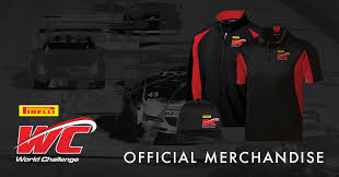 Challenge Official Pirelli World Challenge Official Merchandise Available Now