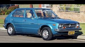vintage honda civic honda civic 1972 1979 youtube