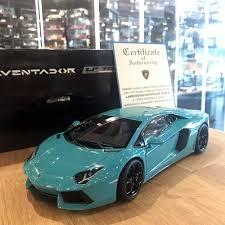 lamborghini aventador blue autoart 1 18 lamborghini aventador lp700 4 turquoise metallic
