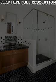 Small Bathrooms With Corner Showers Corner Shower Stalls Fancy Home Design