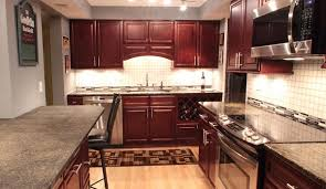kitchen cabinet cherry glaze kitchen cabinets