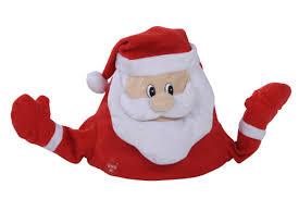 singende zappelnde weihnachtsmütze santa weihnachtsmann mütze neu