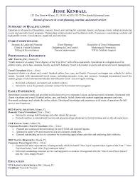Sample Resume For Hotel by Agent Resume