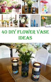 Flower Vase Crafts 40 Awesome Diy Flower Vase Ideas U2013 Crafts U0026 Diy