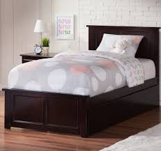 Platform Bed With Nightstands Attached Harriet Bee Alanna Twin Platform Bed With Trundle U0026 Reviews Wayfair
