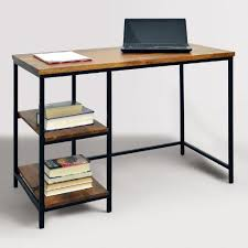 Metal Desks For Office Wood And Metal Williard Desk By World Market Discovery Desks
