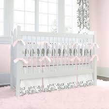 White Crib Bedding Sets by Purple Elephant Crib Bedding Decorating Elephant Crib Bedding