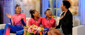 track star sisters surprised by beautiful home makeover abc news