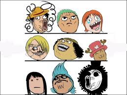 Looool Meme - one piece faces