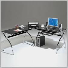 Office Depot Glass Computer Desk Staples Glass Desk Medium Size Of Office Depot With Plans 17