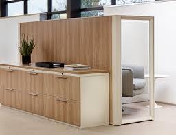 Wood Grain Laminate Cabinets Calibre Storage System Knoll